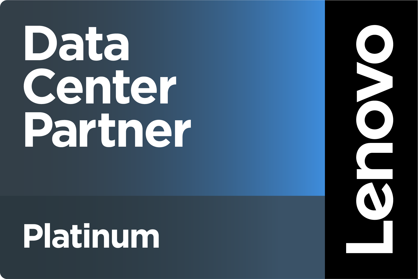 Lenovo DataCenter Platinum Partner
